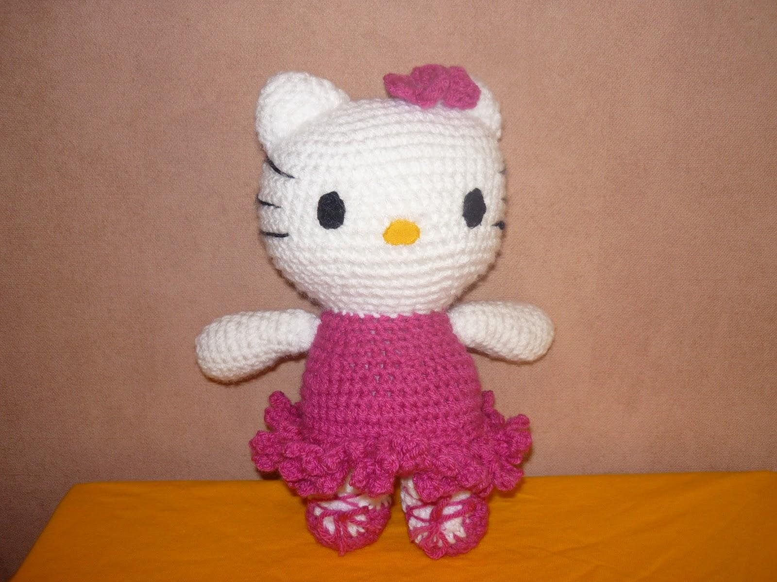 Tejiendo Peru Tutorial Amigurumi : Tejiendo sueños hello kitty mi primer amigurumi tutorial