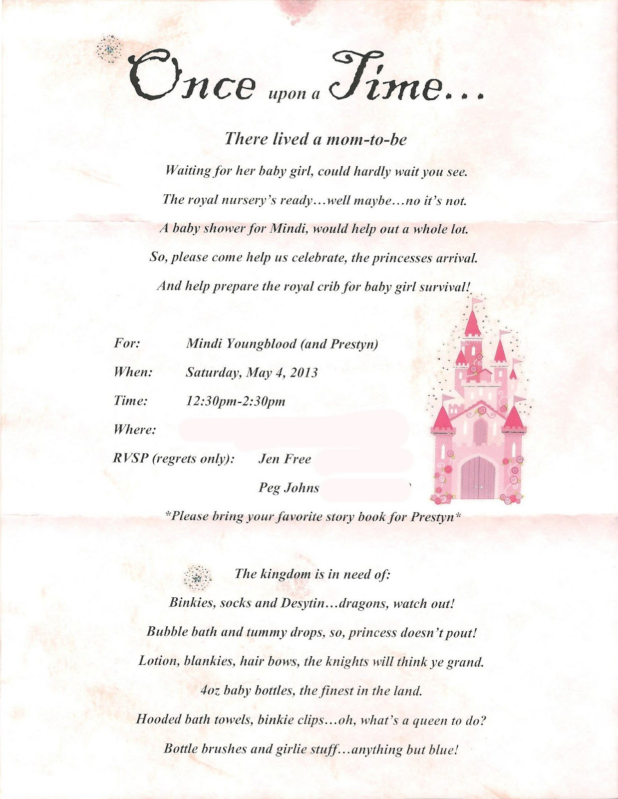 Fairy Tale Themed Baby Shower Pinterest Baby Shower Gift Ideas