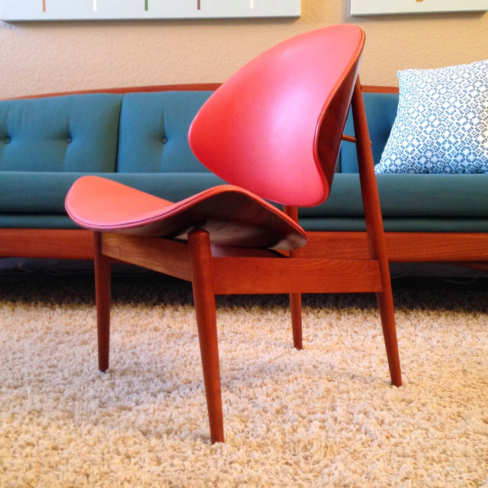 Clamshell Chair Designed By Seymour James Weiner
