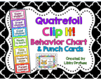 http://www.teacherspayteachers.com/Product/Clip-It-Behavior-Chart-and-Punch-Cards-Quatrefoil--809696