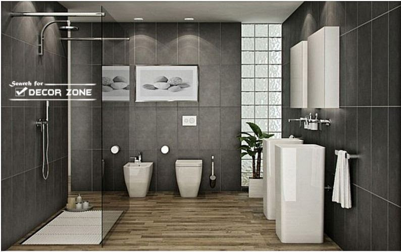 modern bathroom floor tile ideas