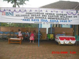 Acara Tahunan Qurban Idul Adha 2009-2010