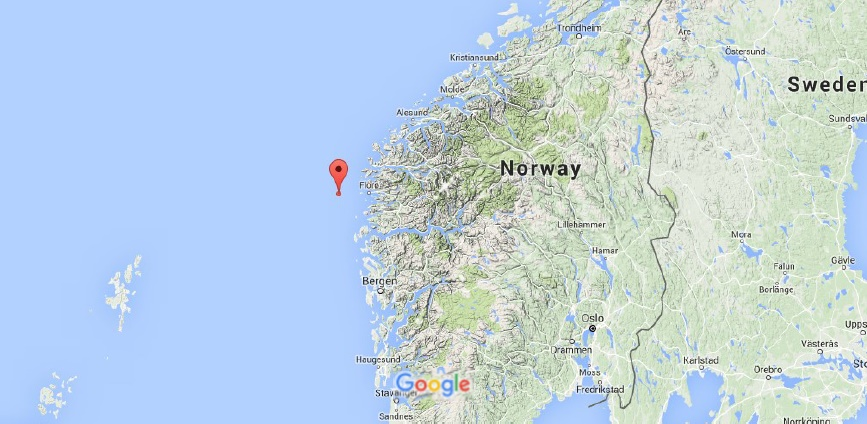 Sciency Thoughts Magnitude 38 Earthquake off the west coast of Norway
