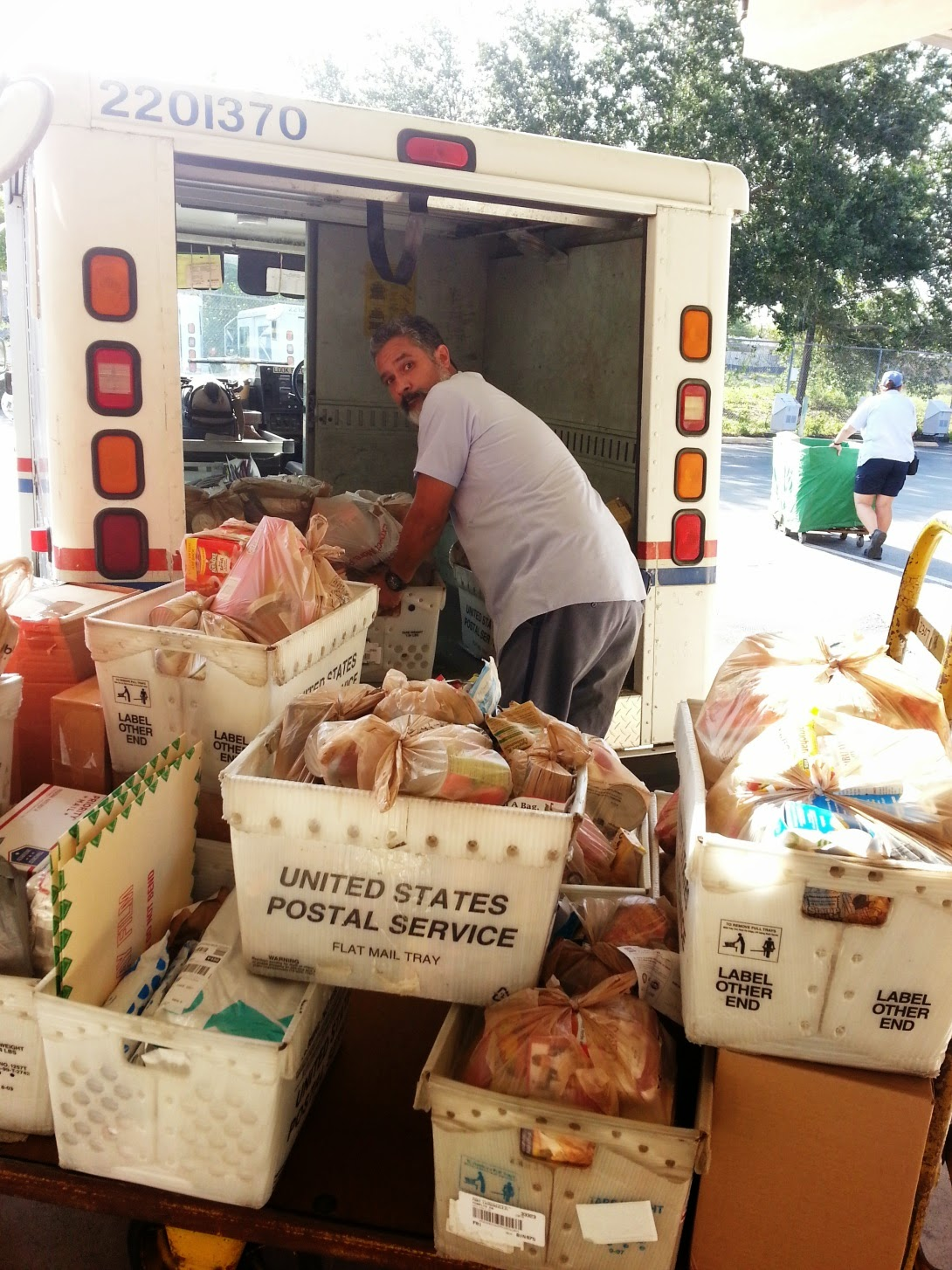 South Florida Postal Blog Nalc Food Drive All In The