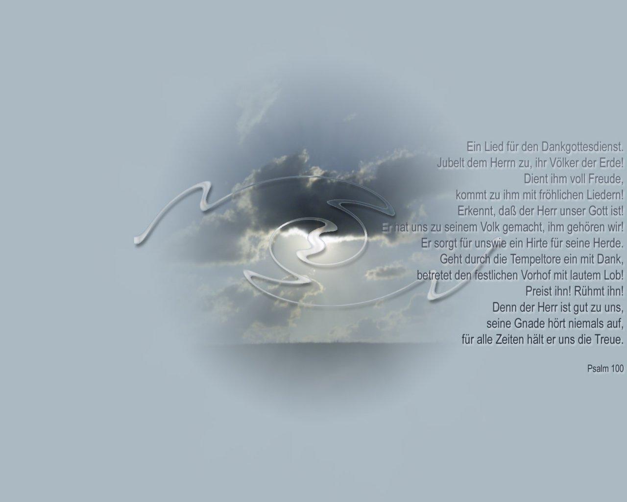 Psalm 100 ein dank christliche hintergrundbilder - Christliche hintergrundbilder ...