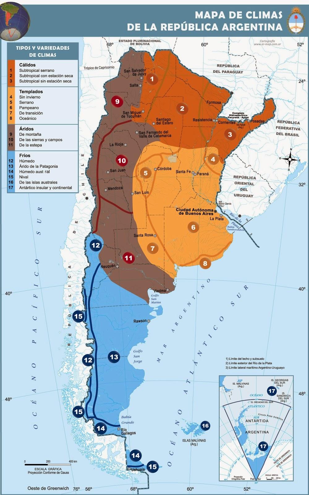 Geograf a 4 1 ambientes y recursos naturales for Ambientes de argentina