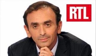 Vidéo RTL- Éric Zemmour :