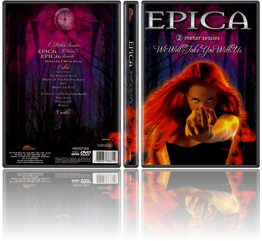 Epica - We Will Take You With Us [DVD Full + DVD-Rip]