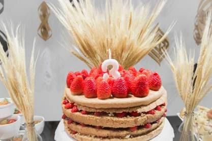 bodas de trigo como comemorar