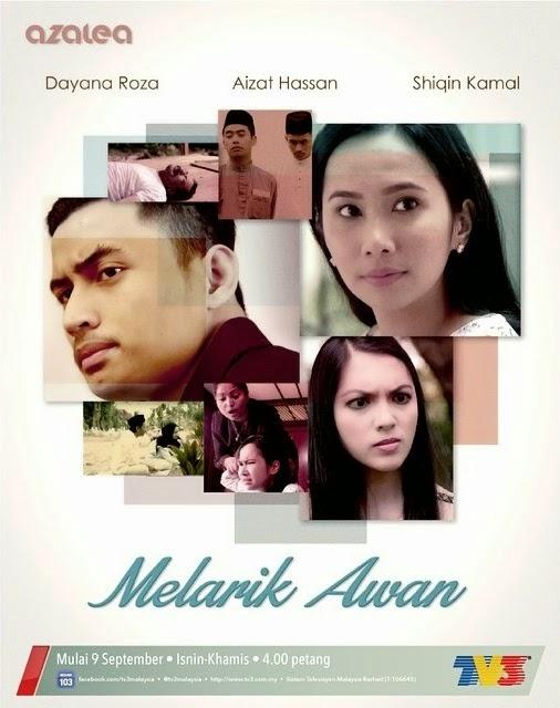 Sinopsis Drama Melarik Awan TV3