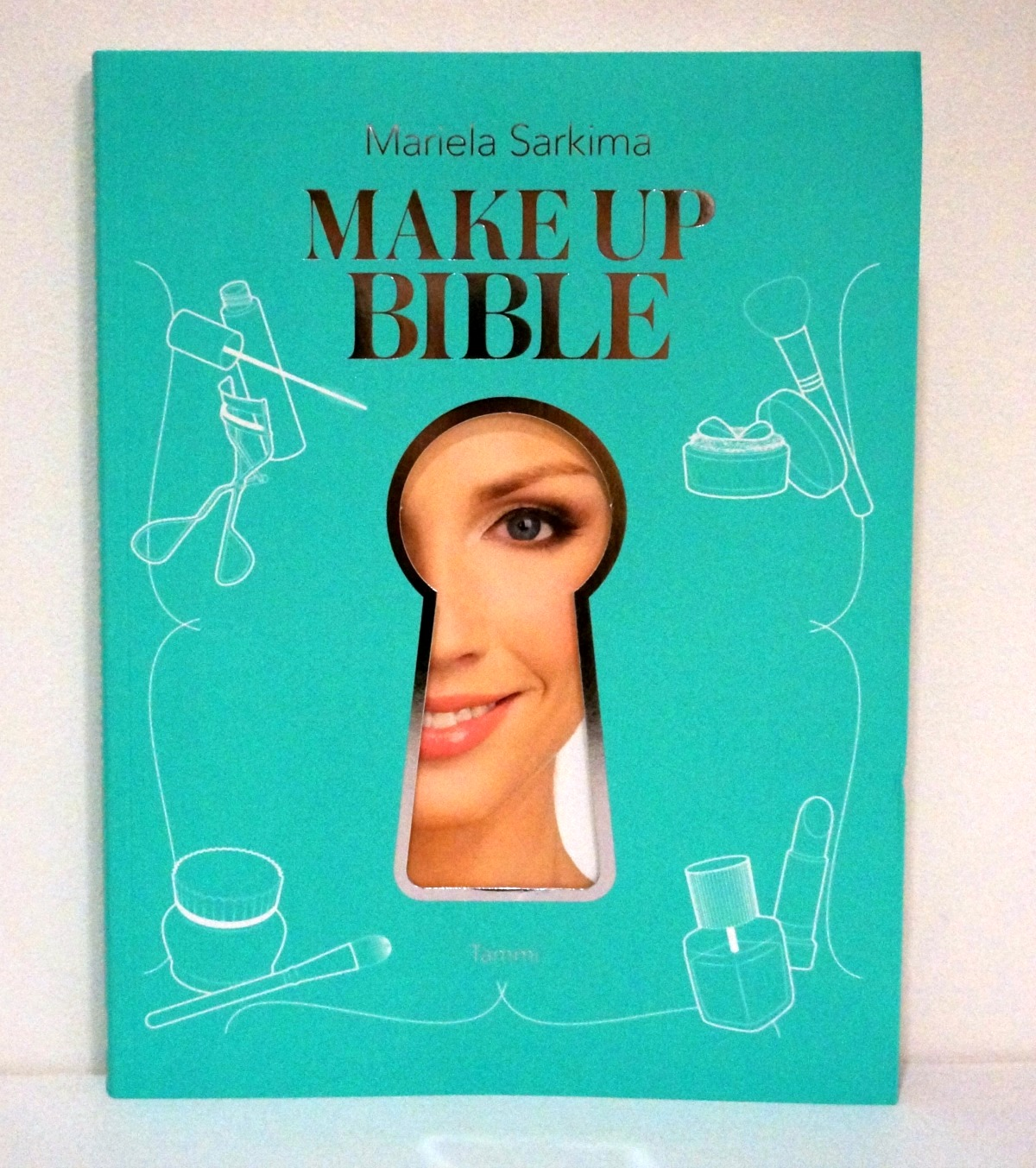 a book by mariela sarkima called makeup bible