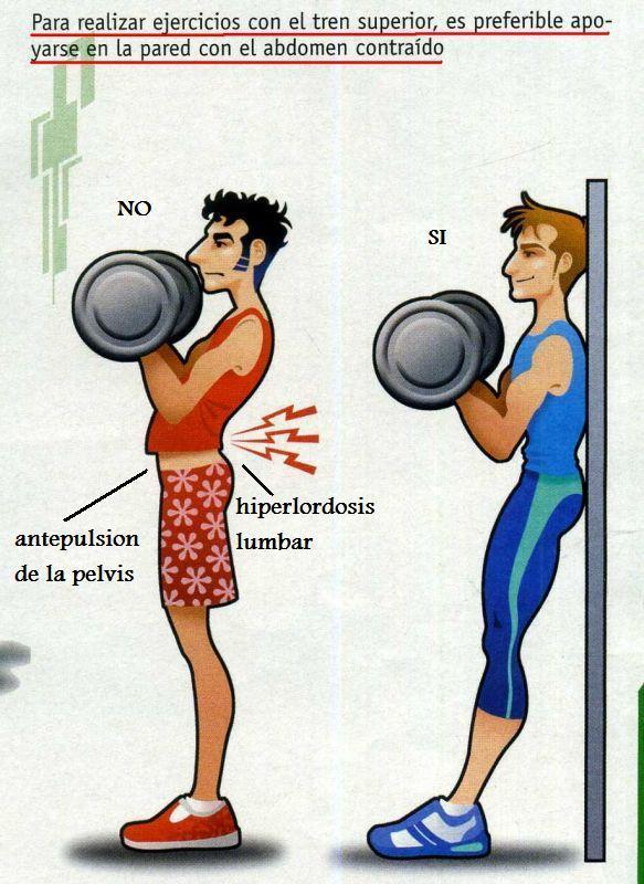 De los dolores en la espalda puede ser una fuerte neurosa
