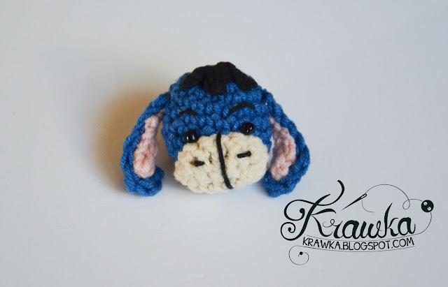 Krawka: Winnie the Pooh and friends -minis crochet free pattern.
