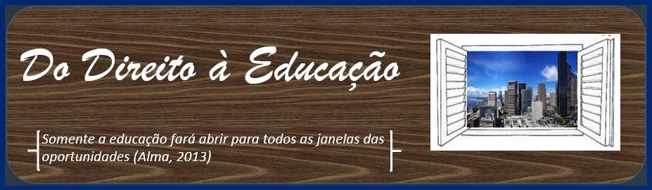 Do Direito a Educação