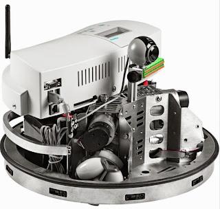 Bentuk mobile robot - Robotino dari festo