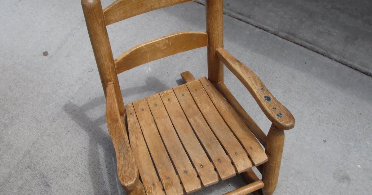 Portobello Road Little Red Rocking Chair