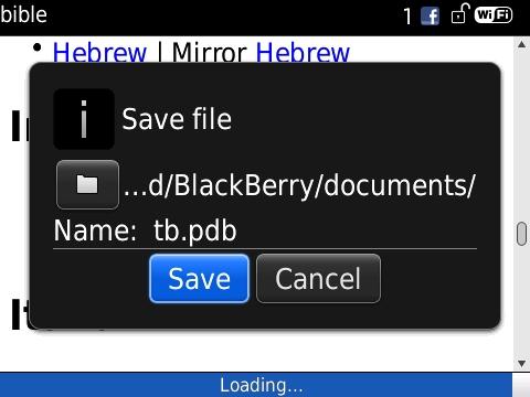 Cara Download Alkitab Di Blackberry