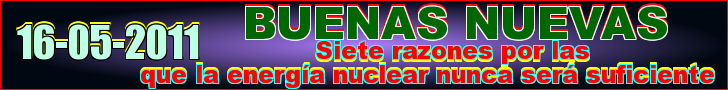 Siete razones por las que la energa nuclear nunca ser suficiente