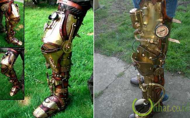 Kaki Palsu Robot