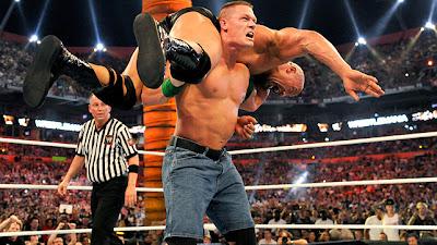 John Cena vs The Rock