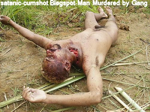 men caught sleeping nude man was killed by a local gang after caught .