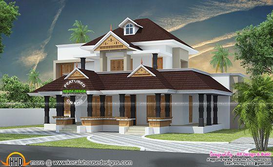 Kerala charupadi home design