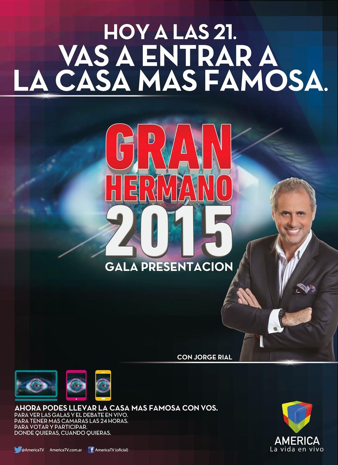 primer Gala Gran Hermano 2015