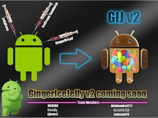 GingerIceJelly V2 ROM Terbaik Untuk Galaxy Y Duos GT-S6102