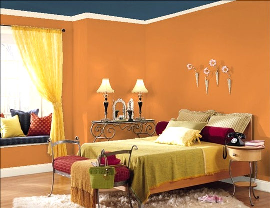 House beautiful interior wall paint for beautiful home for Images of interior painted walls