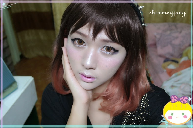 Create Beautiful Korean Eyes with Dolly Eye Jewel Brown