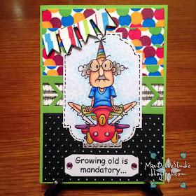 Bugaboo Stamps Gus Birthday Optional