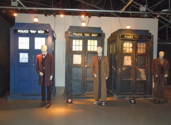 Doctor Who 11th, 10th and War Doctor TARDIS