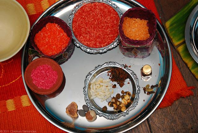 The lights of diwali pagan murmur for Aarti dish decoration