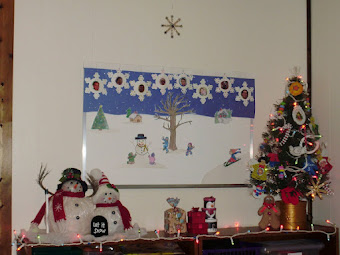 2011 Christmas Classroom Decorations...