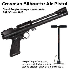 Air Gun Indonesia: Pistol Angin CO2 dan PCP