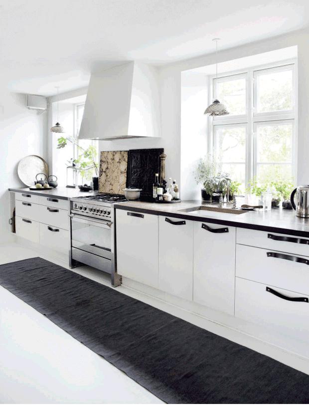 Decoraci n f cil sereno y natural hogar de estilo escandinavo - Cabecero estilo escandinavo ...