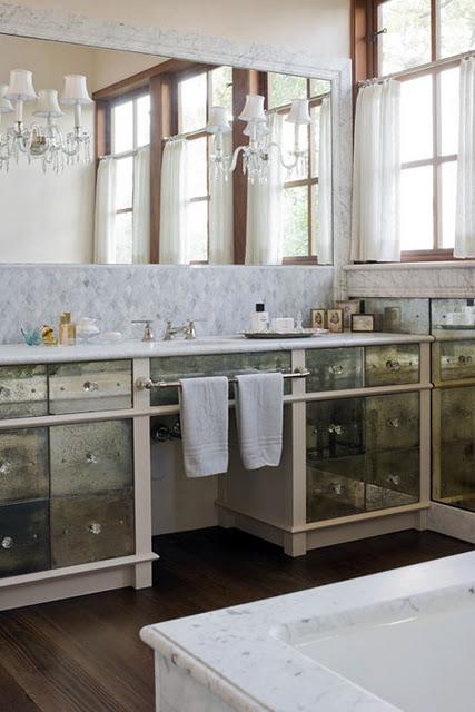 Front Bathroom Vanity Mirror