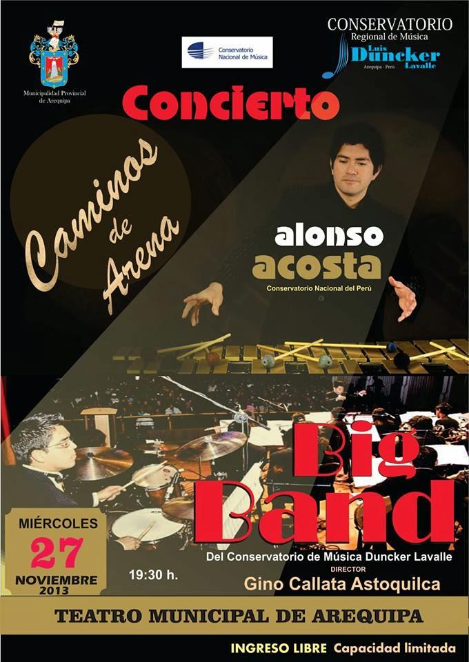 Concierto Caminos de Arena con Alonso Acosta (27 nov)