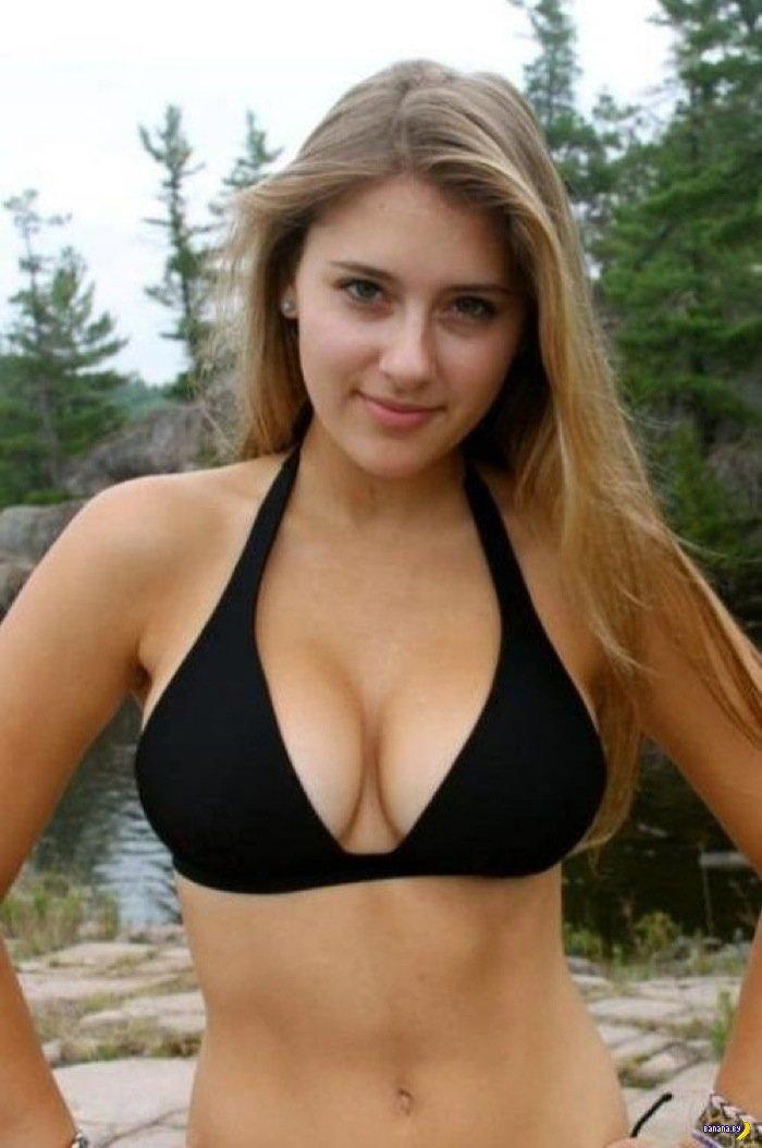 фото молодых девушек с красивой грудью