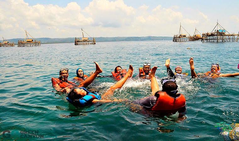 Berhenti sejenak dan mari beraktifitas snorkeling di Pangandaran