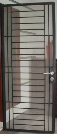 Harga pintu besi kasa nyamuk minimalis ukuran pintu standar (200x80cm ...