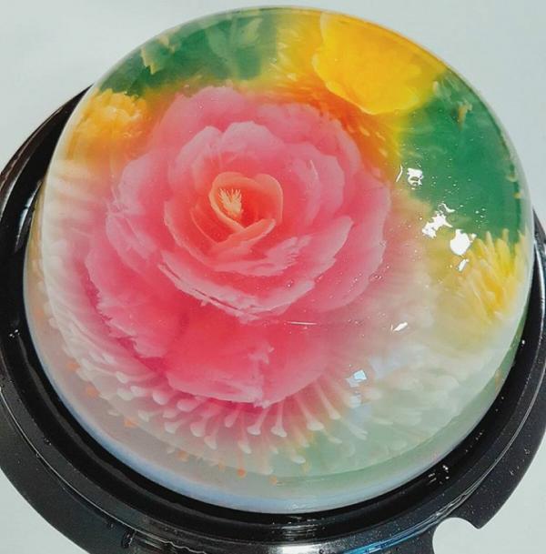 Raindrop Cake Roses
