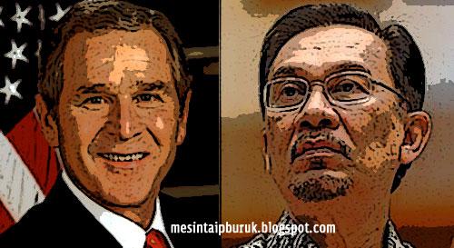 """Gerakan """"tawan"""" Putrajaya serupa AS tawan Iraq?"""