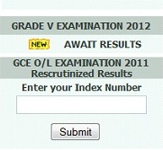 Grade 5 Exam Results Sep 29