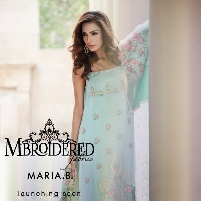Maria.B Embroidered Fabrics 2014