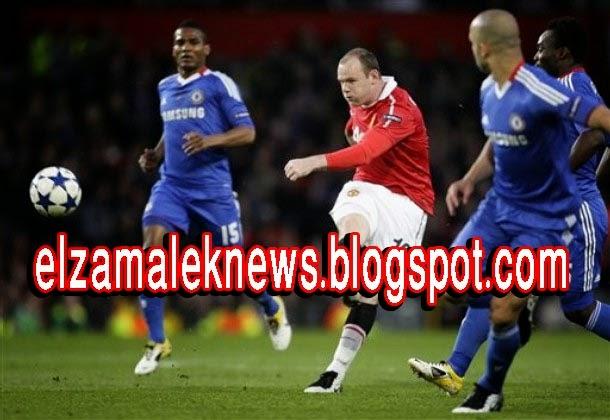 واين روني مهاجم مانشستر يونايتد الإنجليزي الدولي