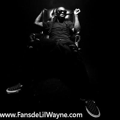 Imagen de una sesion fotografica de Lil Wayne