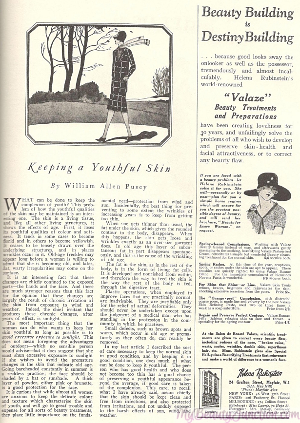 A century of beauty tips, tutorials and perceptions from 1880s-1980s magazines.