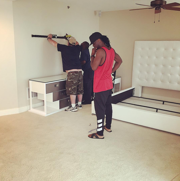 pictures of Paul Okoye's new house in Atlanta USA 11