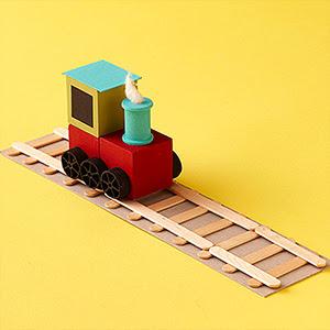 Kid Crafts Train Sets